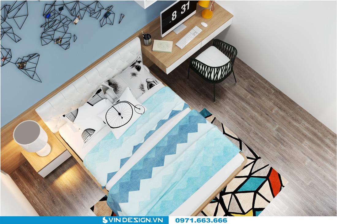 thiết kế nội thất chung cư Gardenia Cầu Diễn 10