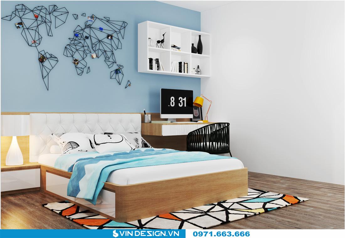 thiết kế nội thất chung cư Gardenia Cầu Diễn 11