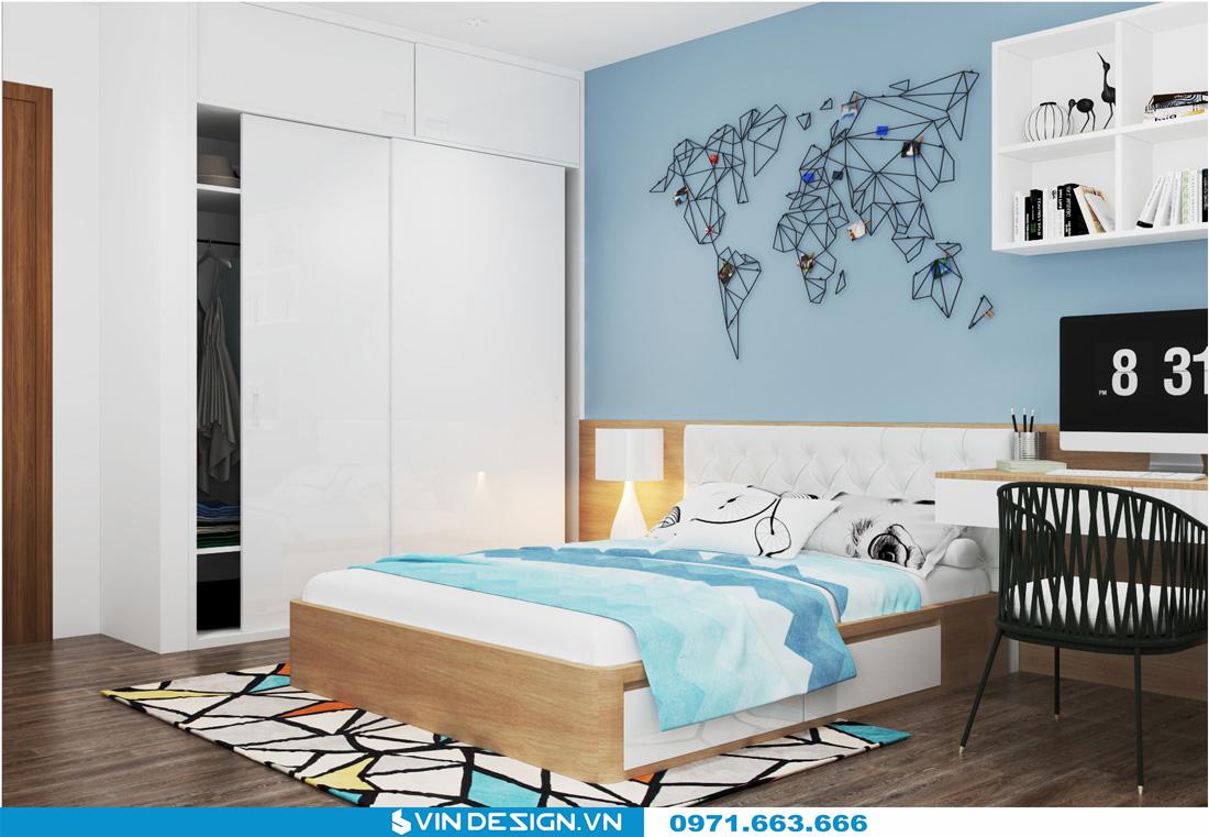 thiết kế nội thất chung cư Gardenia Cầu Diễn 12