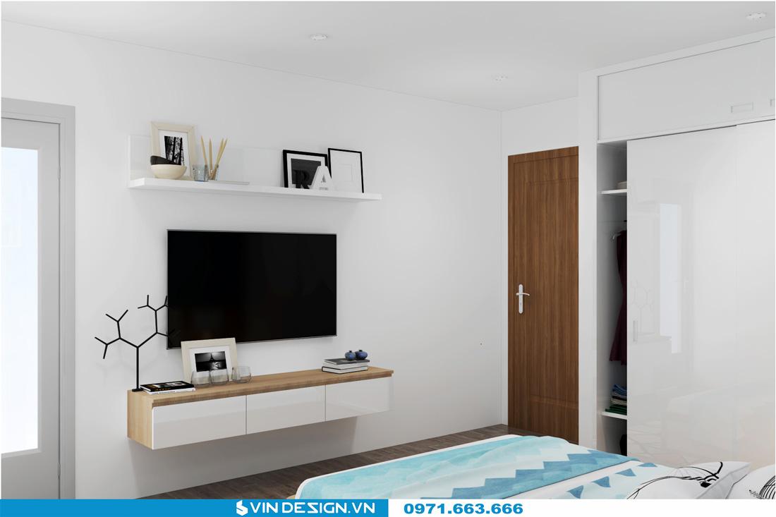 thiết kế nội thất chung cư Gardenia Cầu Diễn 13