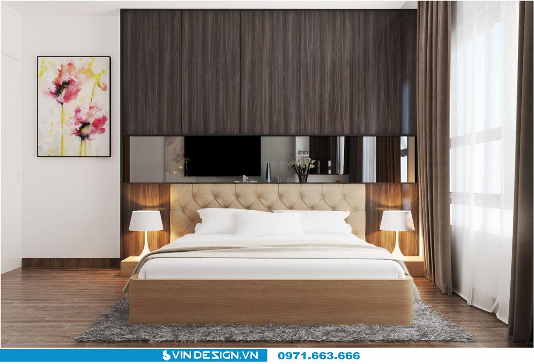thiết kế nội thất chung cư Gardenia Cầu Diễn 14