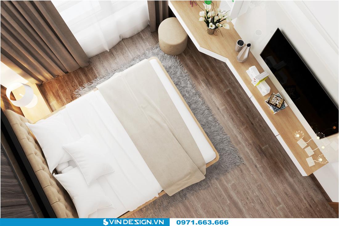 thiết kế nội thất chung cư Gardenia Cầu Diễn 15