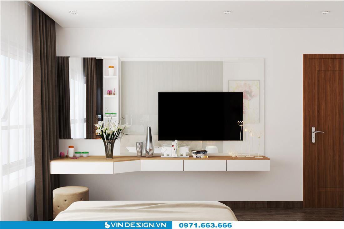 thiết kế nội thất chung cư Gardenia Cầu Diễn 16