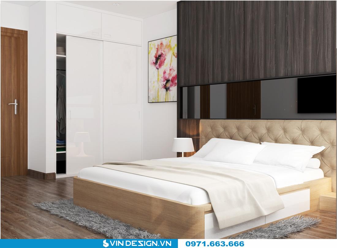 thiết kế nội thất chung cư Gardenia Cầu Diễn 17
