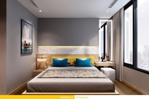 Thiết kế nội thất Park Hill căn 01 phòng ngủ sang trọng