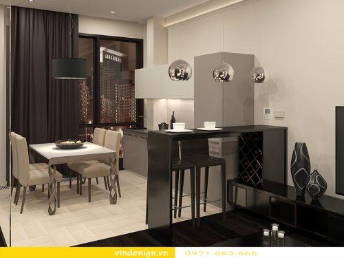 thiết kế nội thất chung cư vinhomes Gardenia tòa A1
