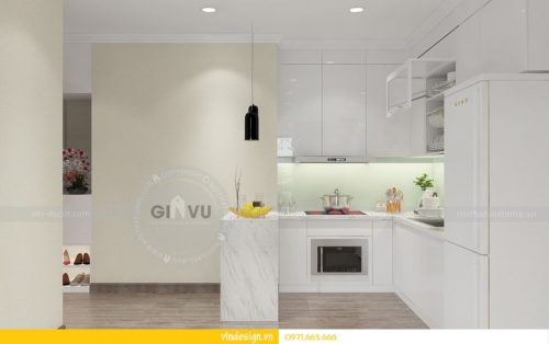 thiết kế nội thất chung cư vinhomes Gardenia tòa A3