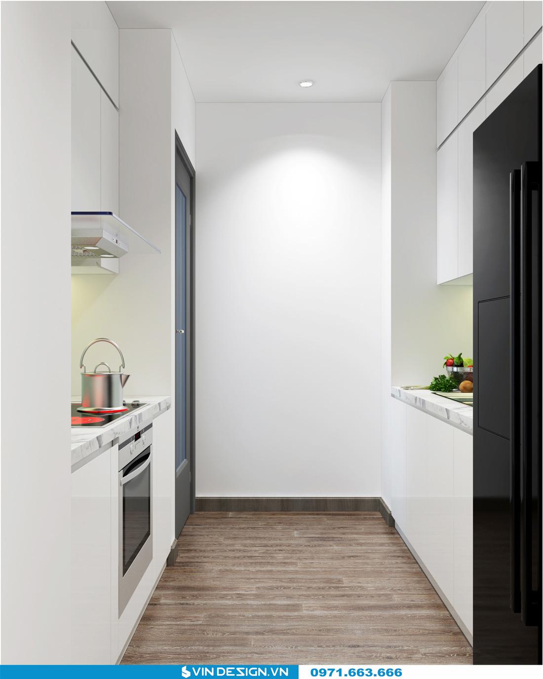 thiết kế nội thất chung cư Gardenia Cầu Diễn 06