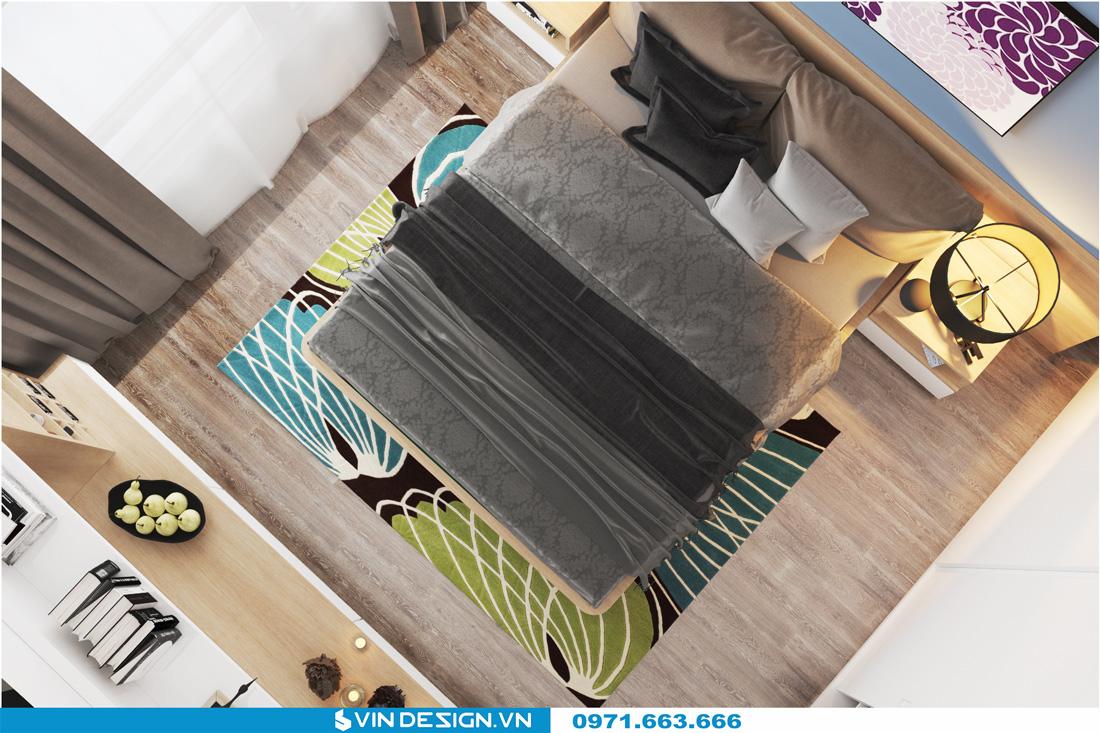 thiết kế nội thất chung cư Gardenia Cầu Diễn 07
