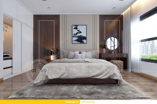 Thiết kế nội Thất Park Hill căn 3 phòng ngủ, đẳng cấp