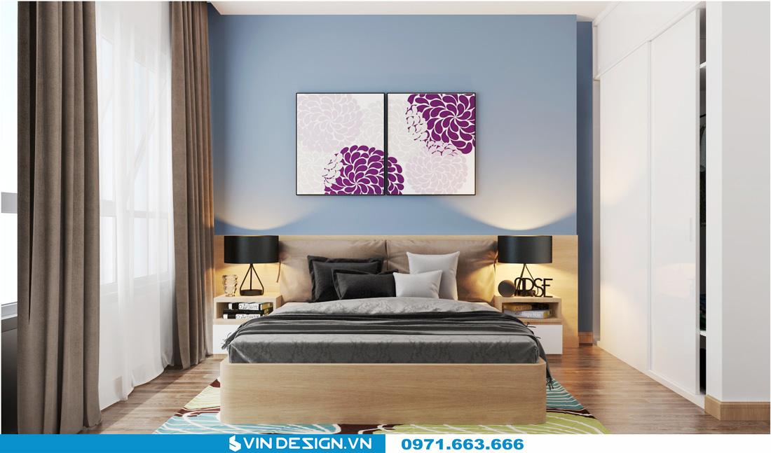 thiết kế nội thất chung cư Gardenia Cầu Diễn 08