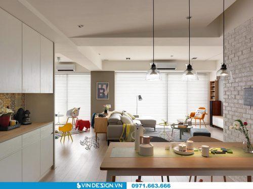 Thiết kế nội thất căn hộ Gardenia – call 0971.663.666