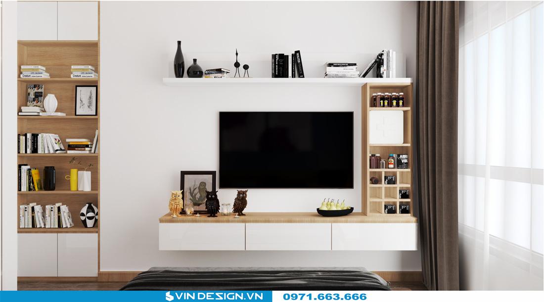 thiết kế nội thất chung cư Gardenia Cầu Diễn 09