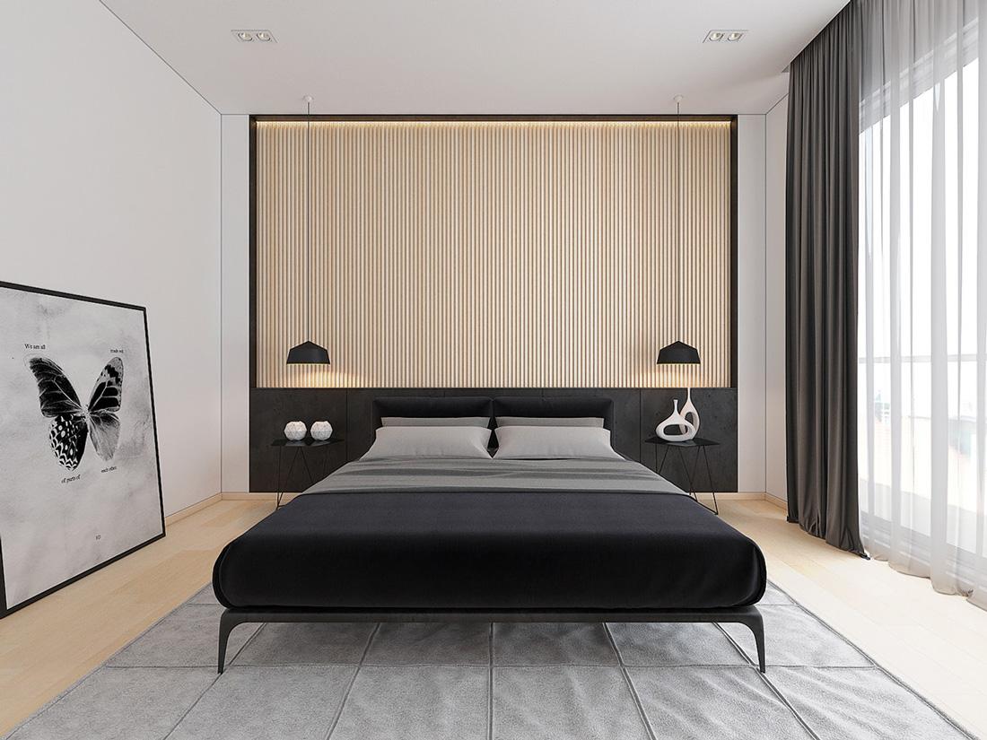Thiết kế nội thất chung cư sky lake 07