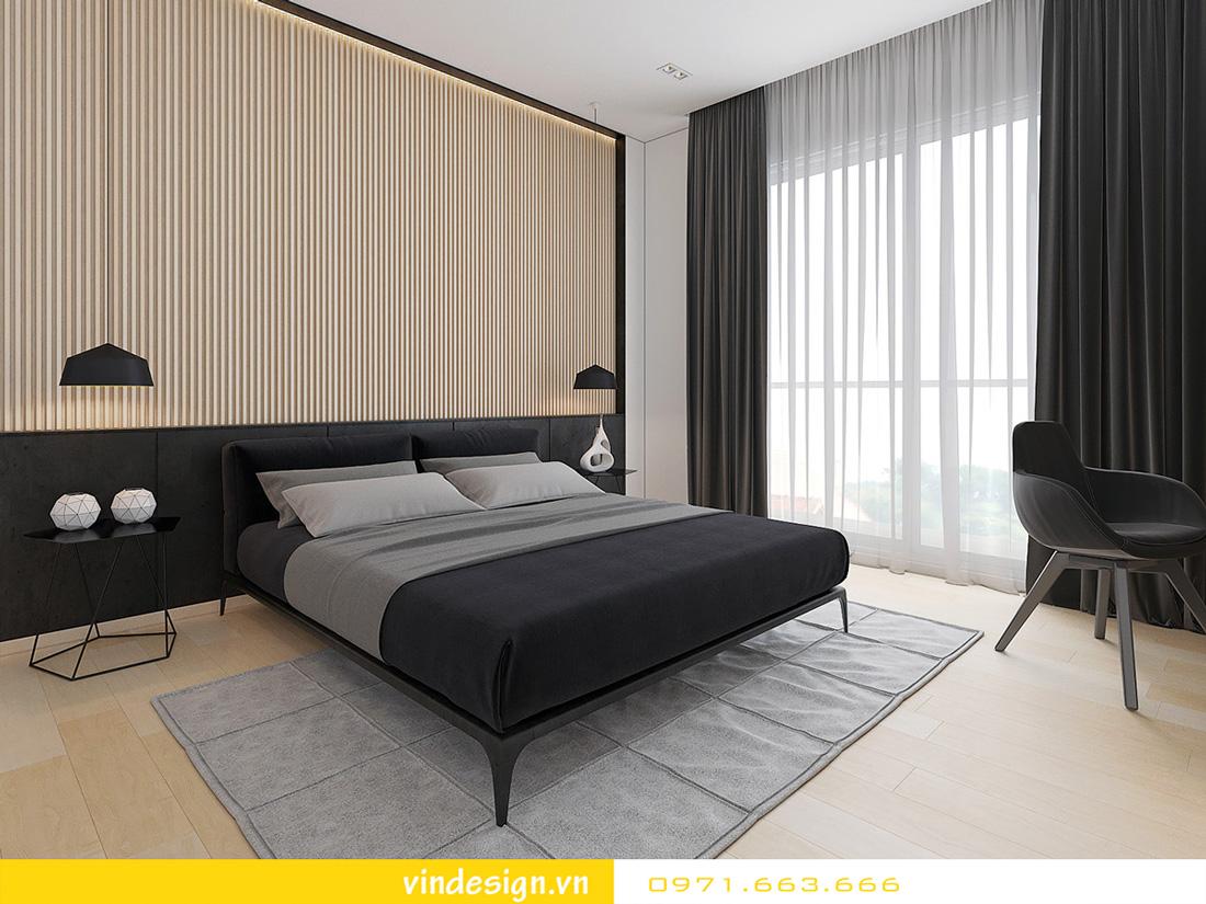 Thiết kế nội thất chung cư sky lake 08