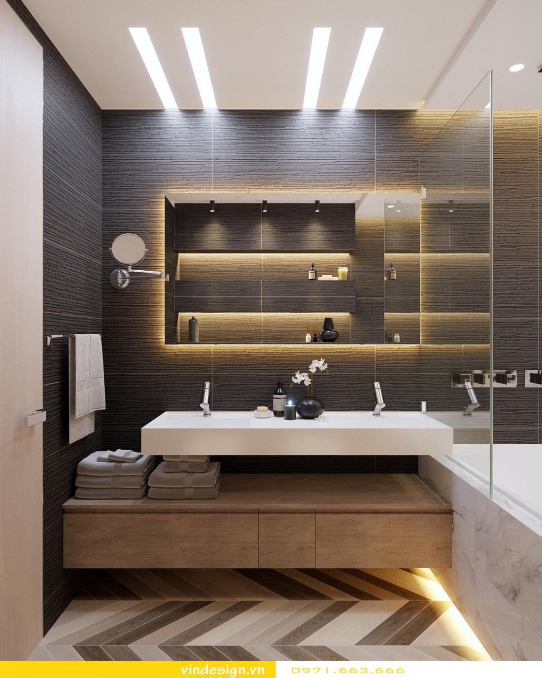 Thiết kế nội thất chung cư sky lake 10
