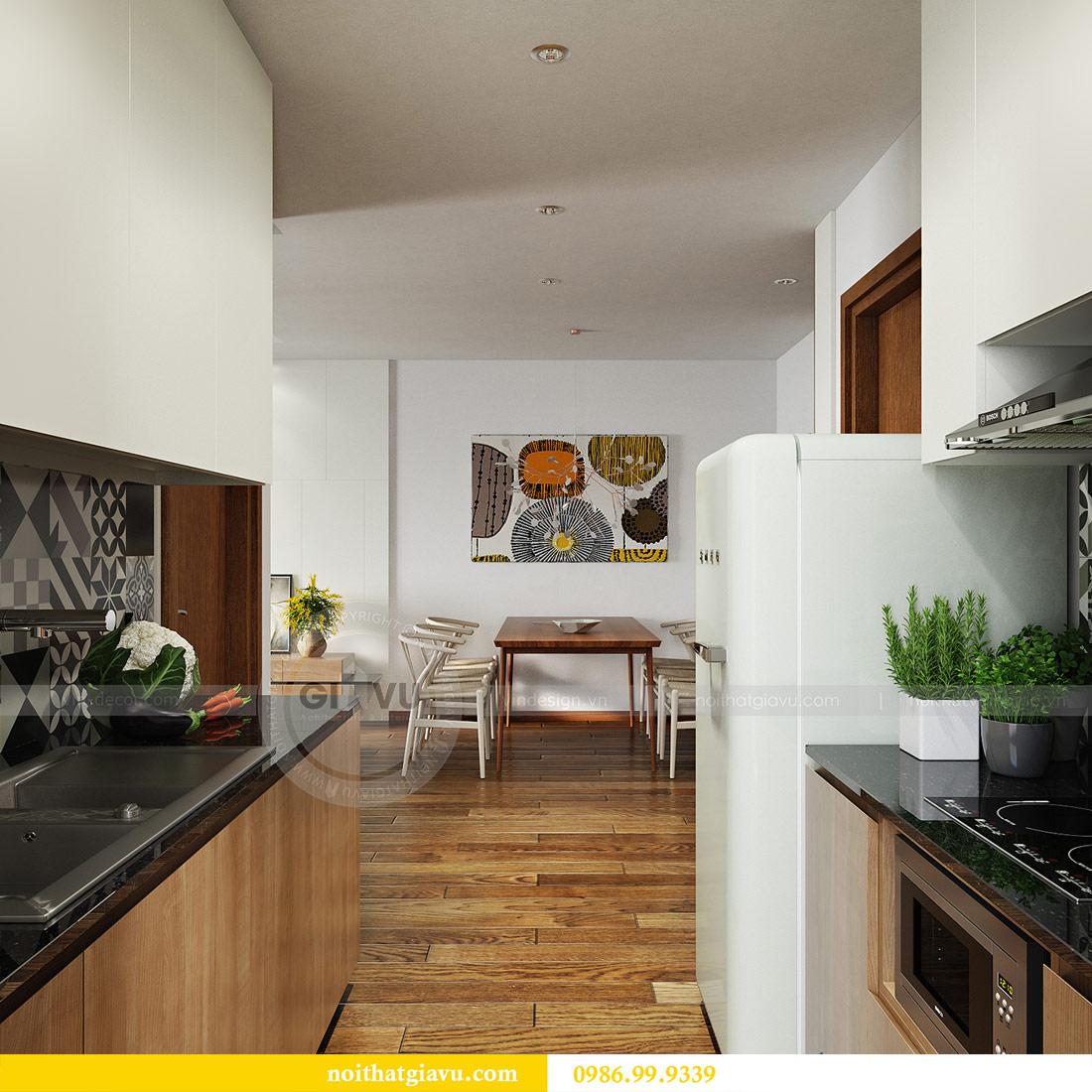 Mẫu thiết kế nội thất chung cư GREEN BAY MỄ TRÌ 3
