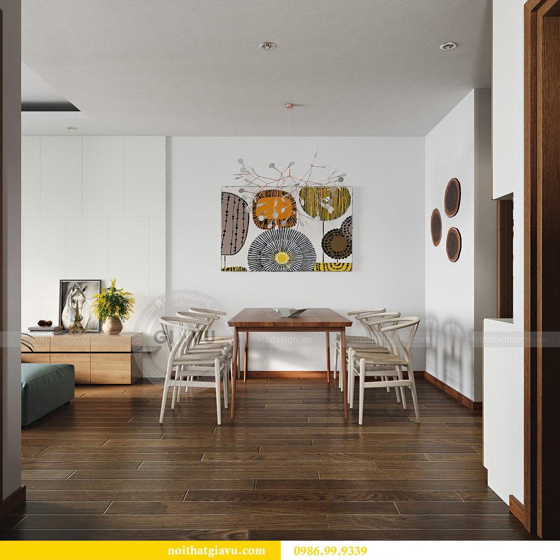 Mẫu thiết kế nội thất chung cư GREEN BAY MỄ TRÌ 6