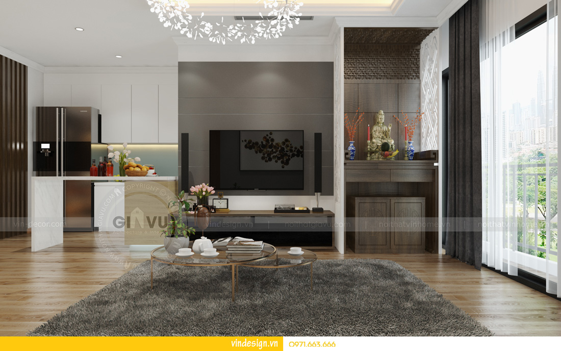 thiết kế nội thất Park hill hotline 0971663666 03