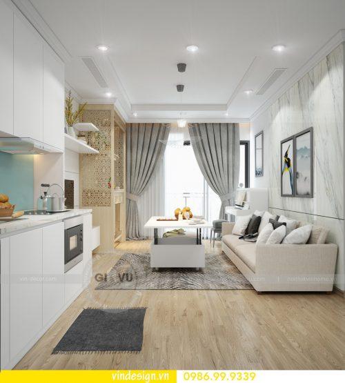 200 triệu đồng hoàn thiện nội thất căn hộ 2 phòng ngủ tại D Capitale