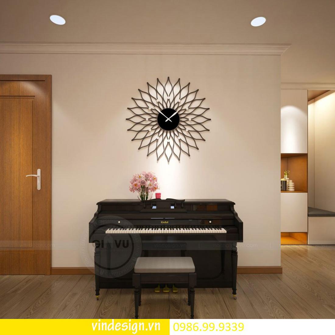 mẫu thiết kế nội thất D Capitale căn 2 phòng ngủ 02