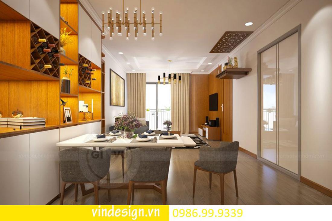 mẫu thiết kế nội thất D Capitale căn 2 phòng ngủ 03