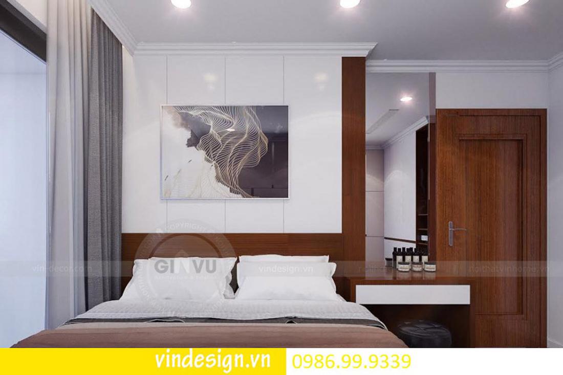 mẫu thiết kế nội thất D Capitale căn 2 phòng ngủ 07