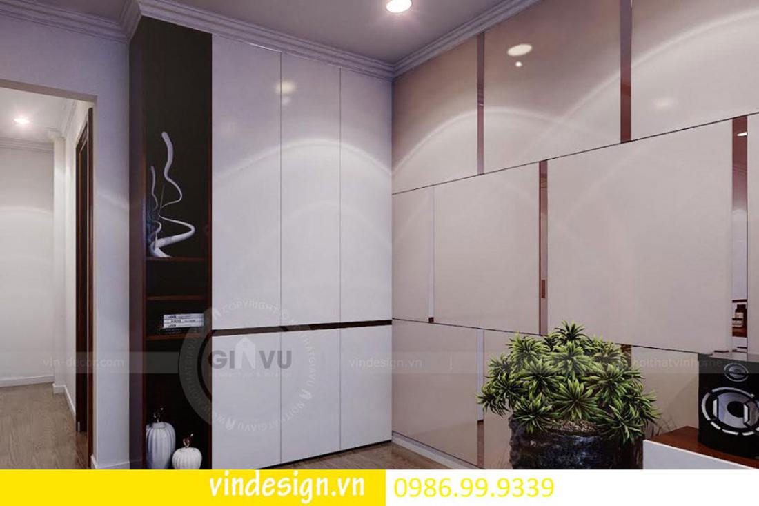 mẫu thiết kế nội thất D Capitale căn 2 phòng ngủ 08