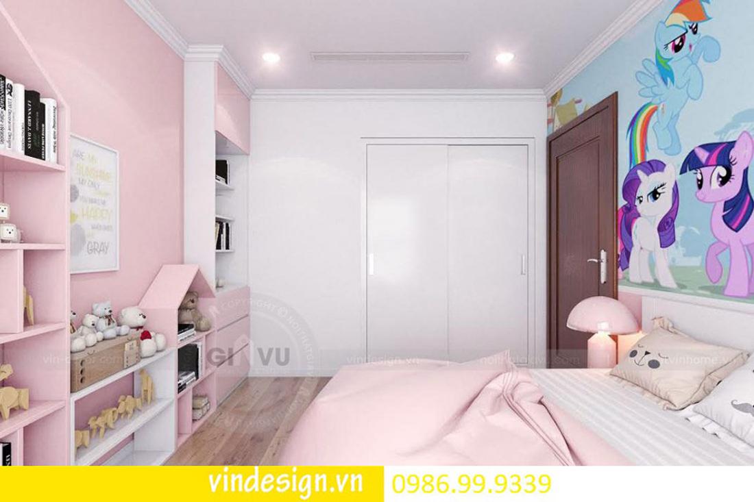 mẫu thiết kế nội thất D Capitale căn 2 phòng ngủ 10