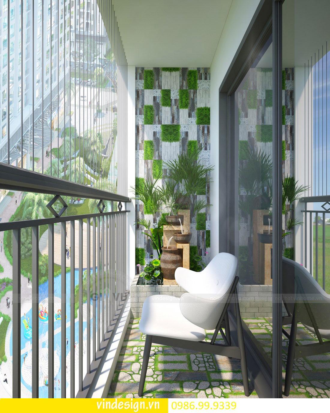 mẫu thiết kế nội thất D Capitale căn 2 phòng ngủ 11