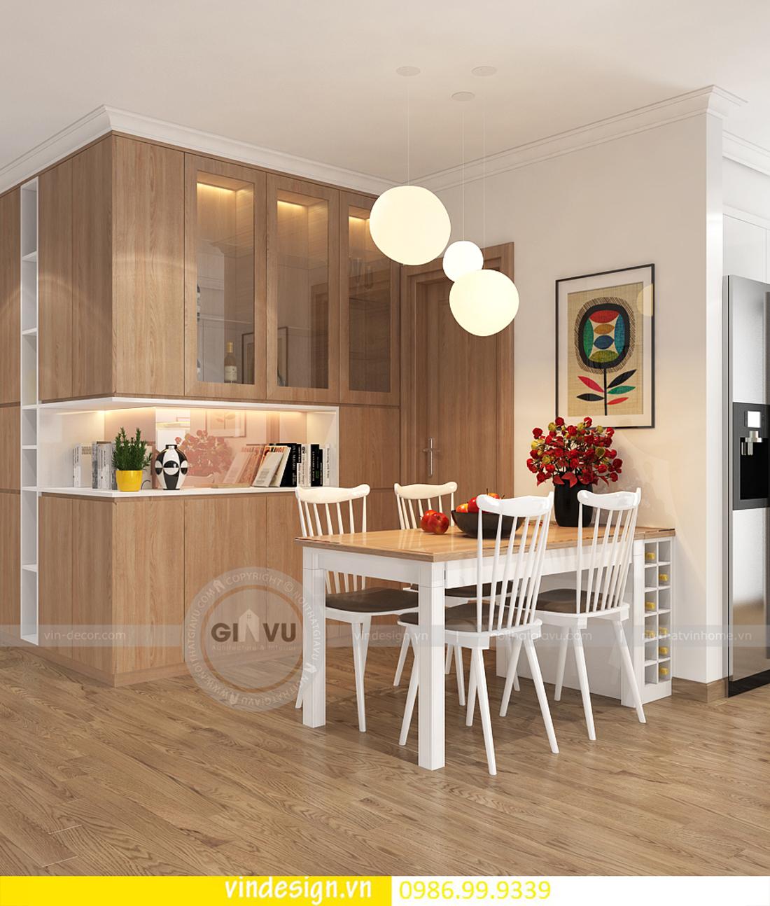 mẫu thiết kế nội thất D Capitale căn 3 phòng ngủ 02