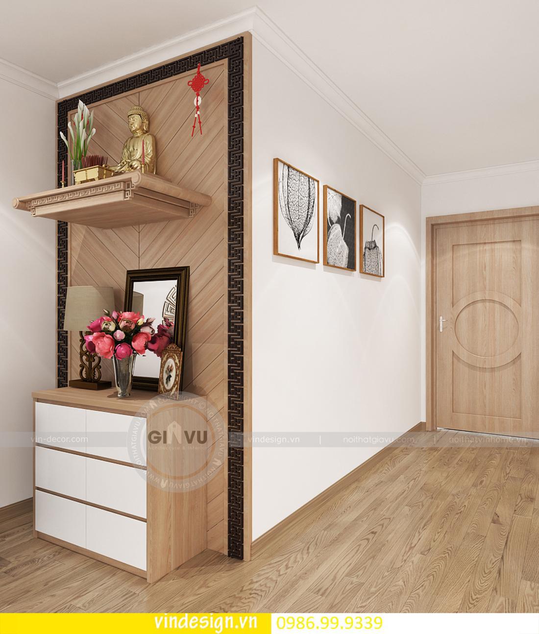 mẫu thiết kế nội thất D Capitale căn 3 phòng ngủ 04