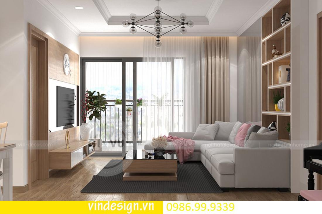 mẫu thiết kế nội thất D Capitale căn 3 phòng ngủ 05