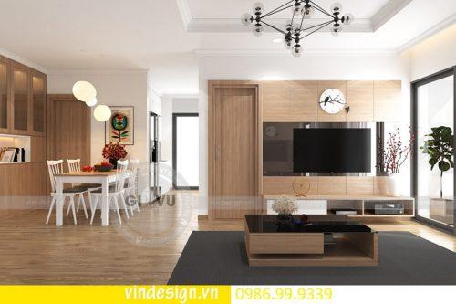 Mẫu thiết kế nội thất D Capitale căn 3 phòng ngủ sang trọng