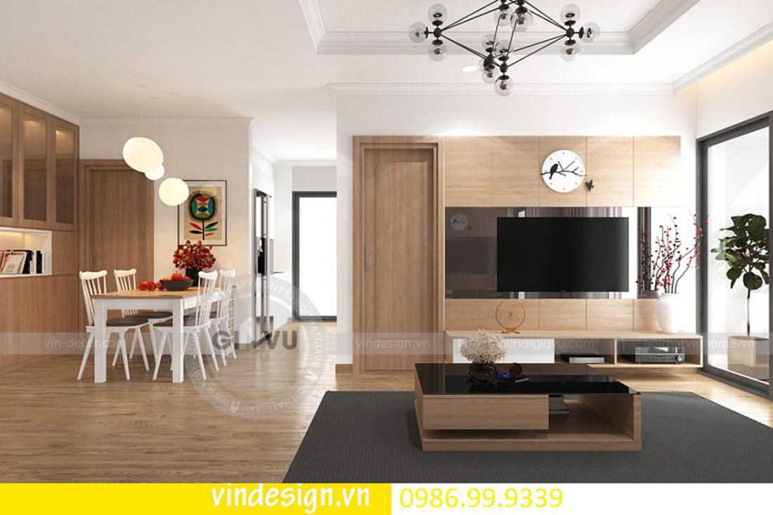 mẫu thiết kế nội thất D Capitale căn 3 phòng ngủ 06