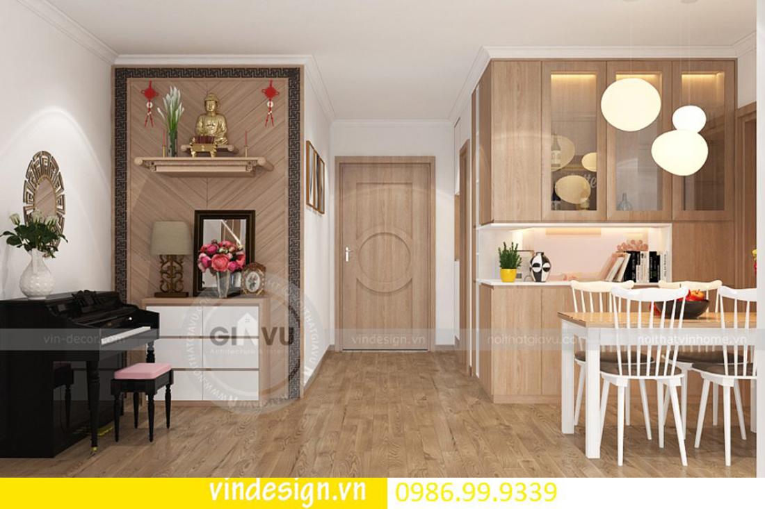 mẫu thiết kế nội thất D Capitale căn 3 phòng ngủ 07