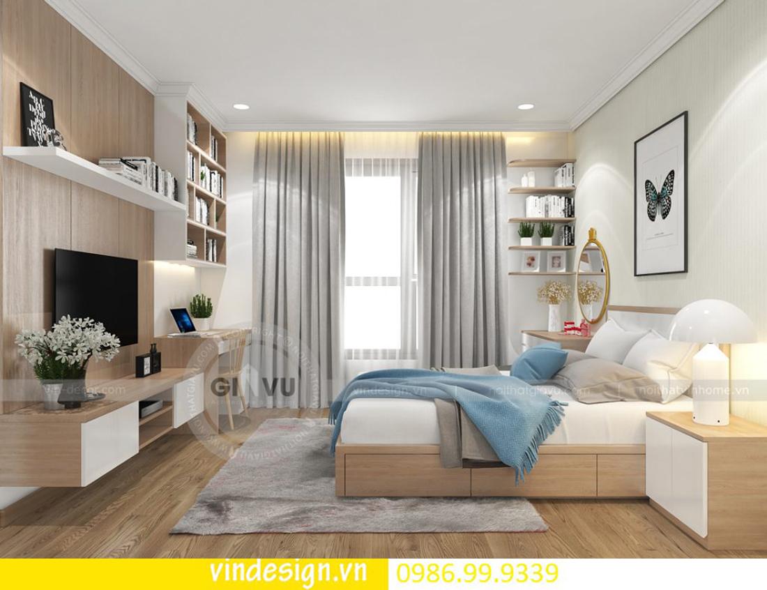 mẫu thiết kế nội thất D Capitale căn 3 phòng ngủ 09