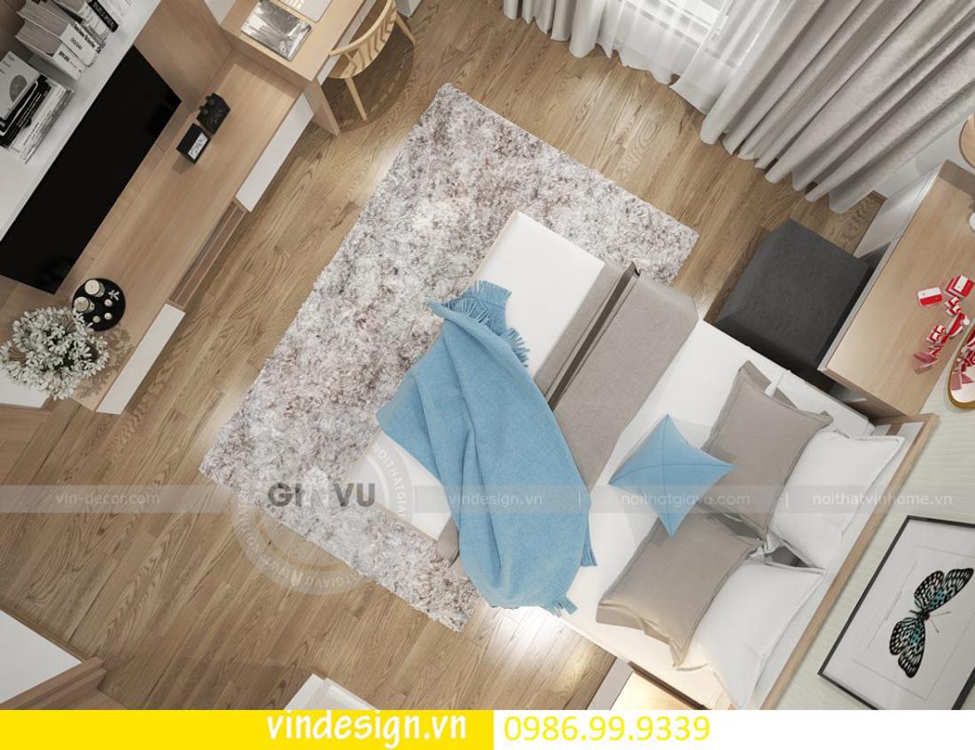mẫu thiết kế nội thất D Capitale căn 3 phòng ngủ 10