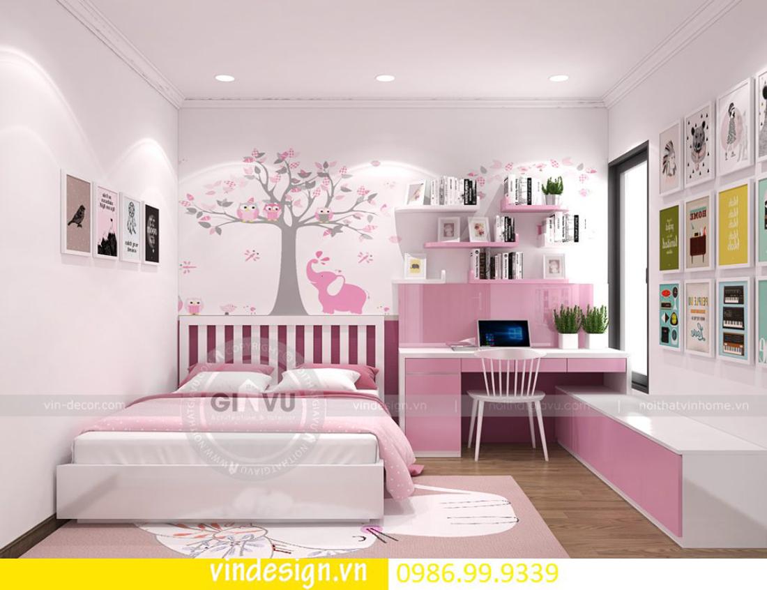 mẫu thiết kế nội thất D Capitale căn 3 phòng ngủ 11