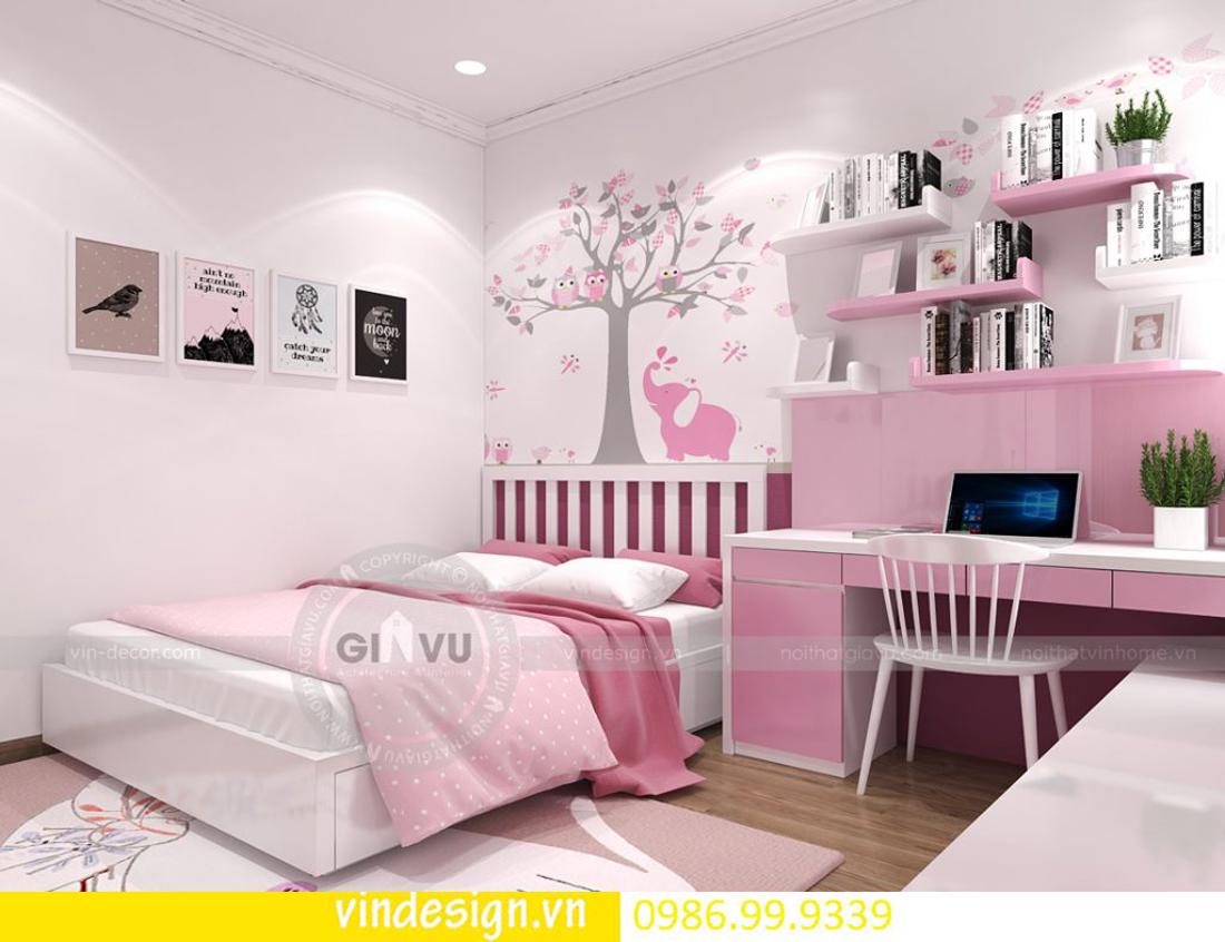 mẫu thiết kế nội thất D Capitale căn 3 phòng ngủ 12