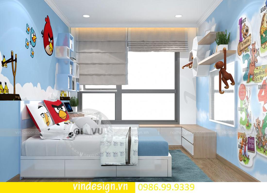 mẫu thiết kế nội thất D Capitale căn 3 phòng ngủ 13