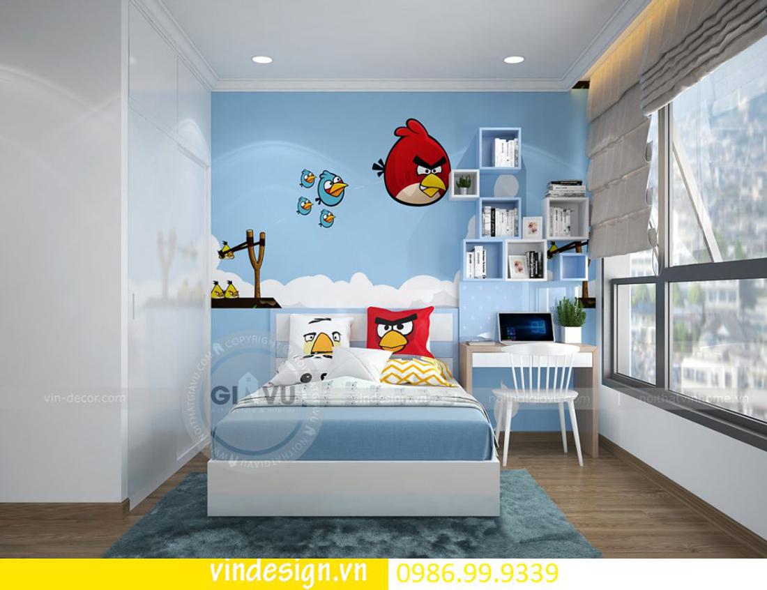 mẫu thiết kế nội thất D Capitale căn 3 phòng ngủ 14