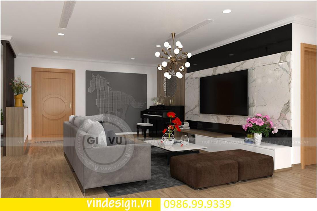 mẫu thiết kế nội thất D Capitale căn 4 phòng ngủ 01