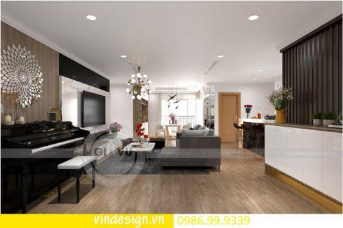 Mẫu thiết kế nội thất D Capitale căn 4 phòng ngủ đẳng cấp