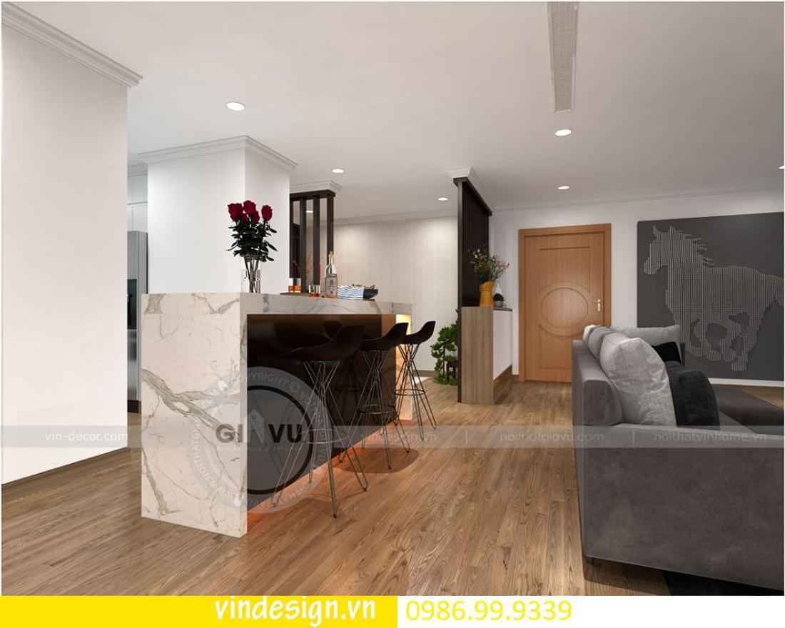 mẫu thiết kế nội thất D Capitale căn 4 phòng ngủ 05