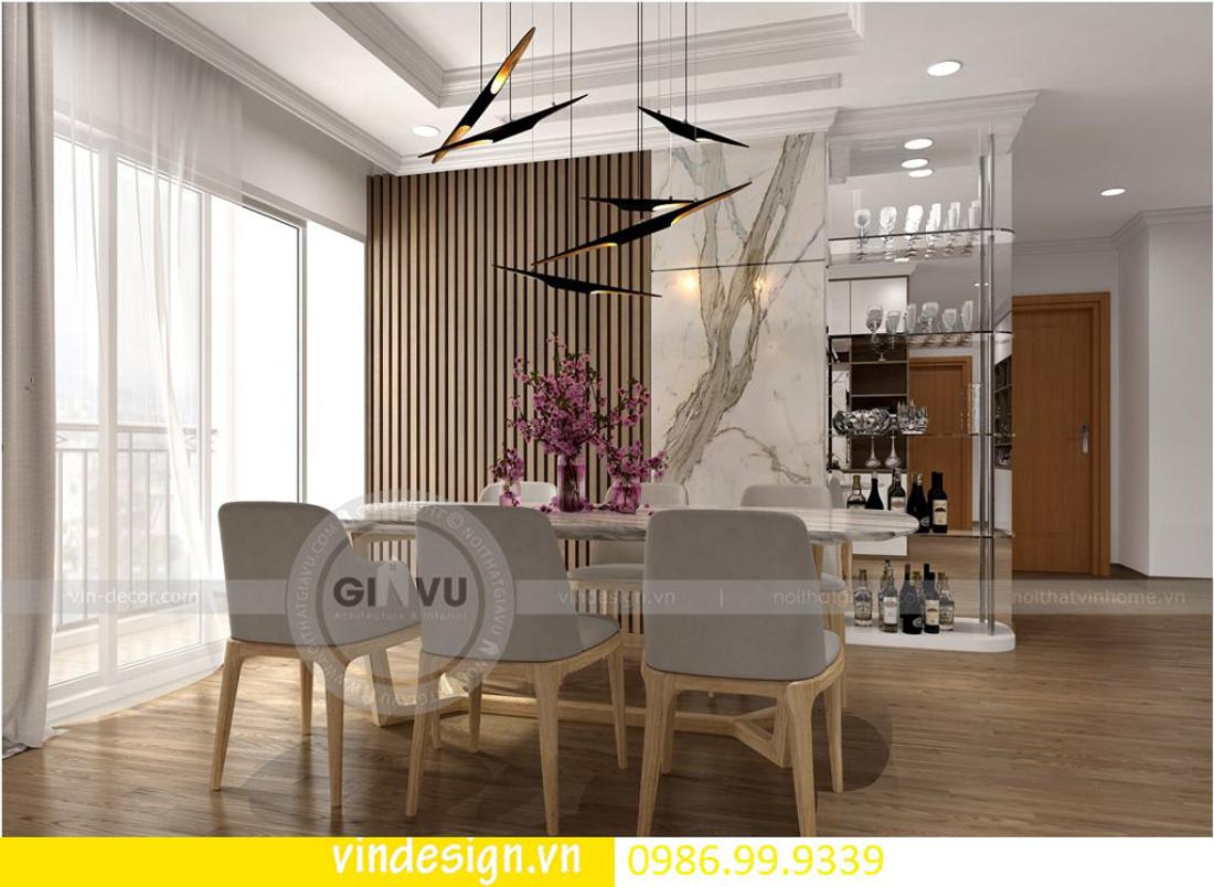 mẫu thiết kế nội thất D Capitale căn 4 phòng ngủ 07