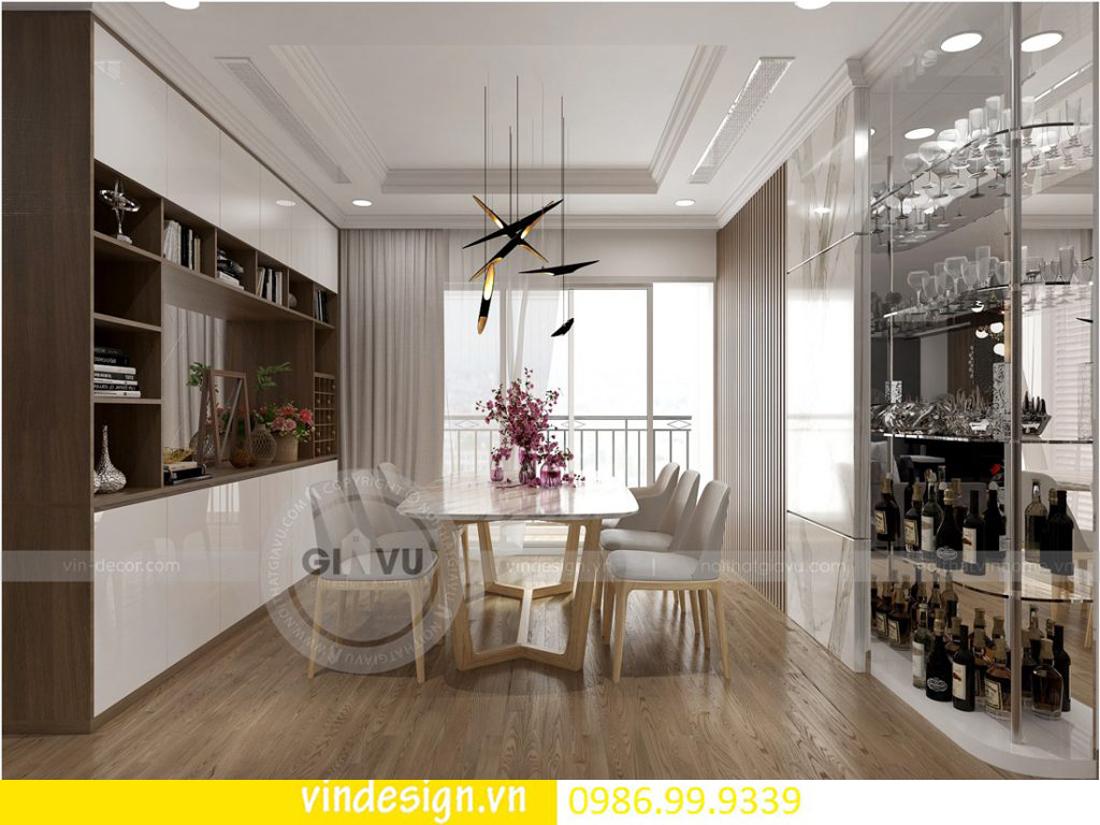 mẫu thiết kế nội thất D Capitale căn 4 phòng ngủ 08