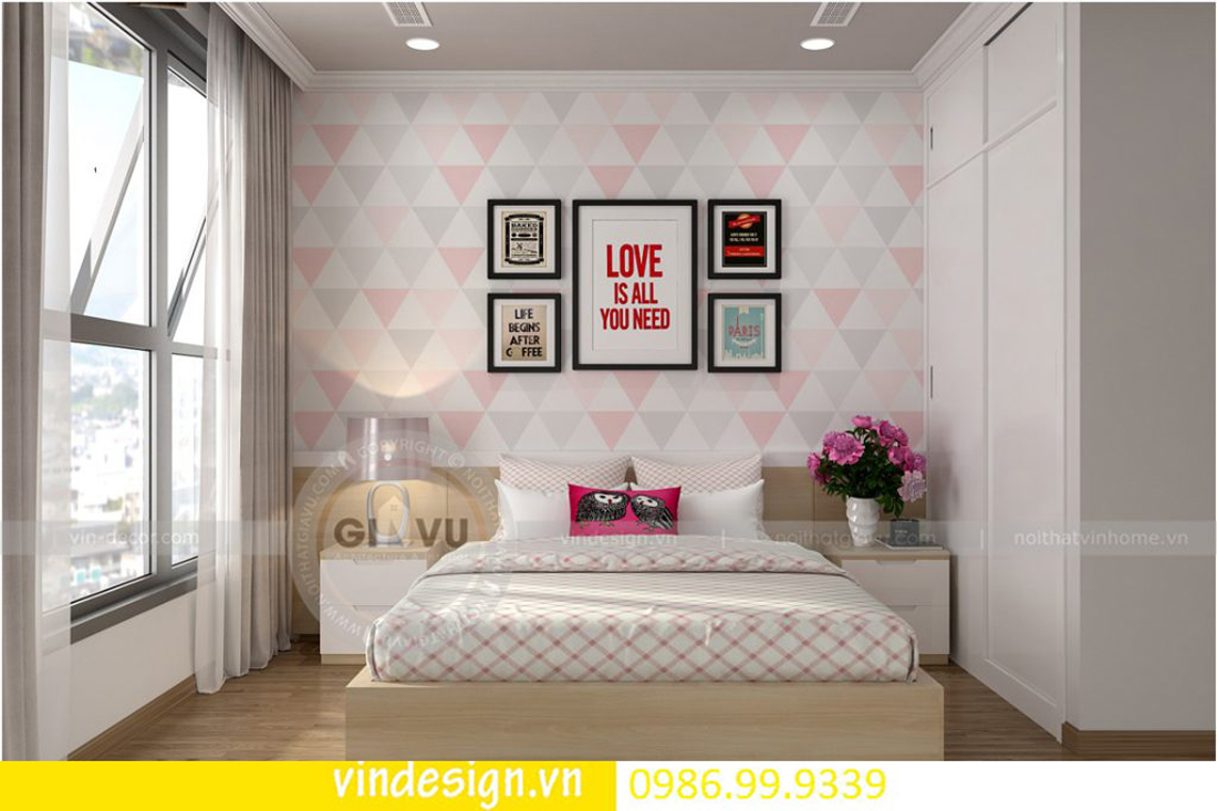 mẫu thiết kế nội thất D Capitale căn 4 phòng ngủ 11