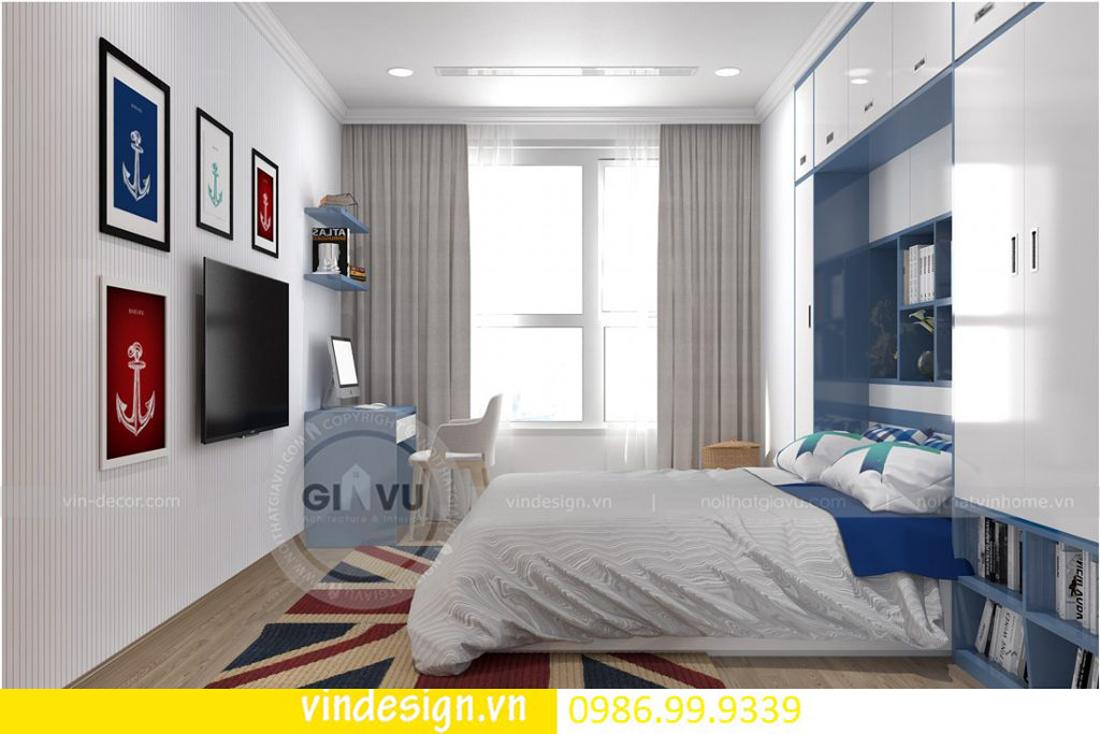 mẫu thiết kế nội thất D Capitale căn 4 phòng ngủ 13