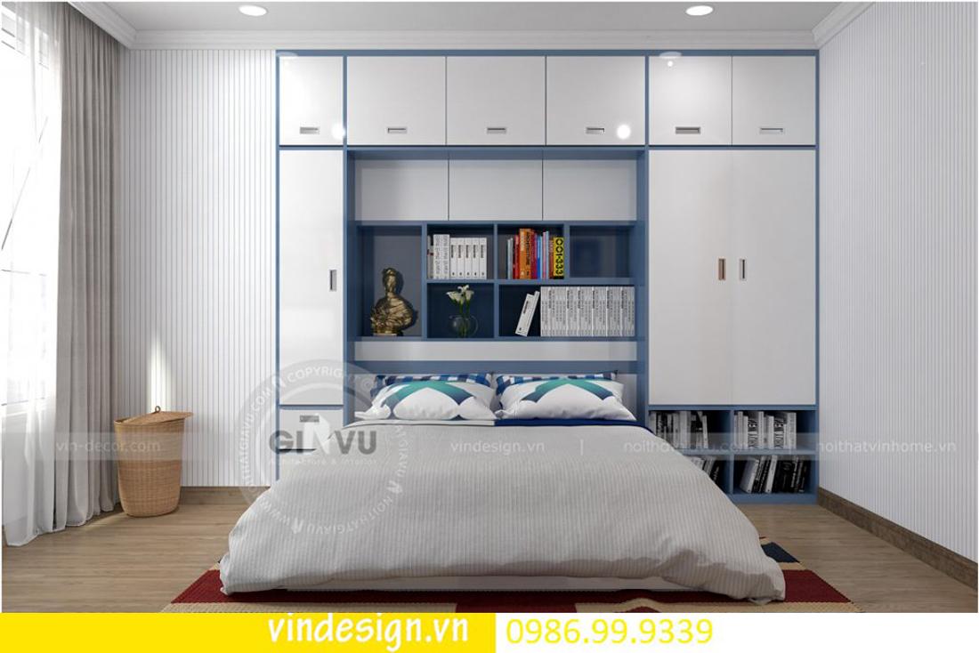 mẫu thiết kế nội thất D Capitale căn 4 phòng ngủ 14